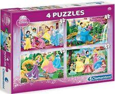 Clementoni 07601. Puzzle infantil. 2x20 y 2x60 pzs. Princesas Disney