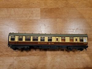HORNBY DUBLO CREAM & BROWN 4070 RESTAURANT CAR W1910
