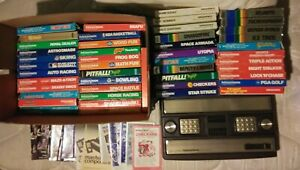 Intellivision 2609A Console, Power, Rf Cable, and 47 Game Lot Bundle Works 🎅📦