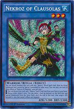 Nekroz of Clausolas Secret Rare Holo Yugioh Card THSF-EN013