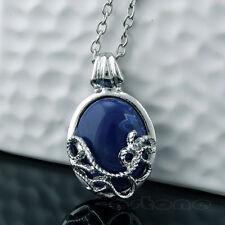 Anti-sunlight Lapis Lazuli Vintage Pendant Necklace For Katherine