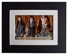 Shirley Henderson Signed Autograph 10x8 photo display Harry Potter Film COA