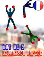 5 Stk. Escalade Spinne Man Sticky Wand Superman Nostalgie Kinder Spielzeug Spiel
