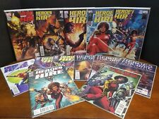 HEROES for HIRE  2010  #1 - 12 + VILLAINS for HIRE  #0.1 1ST PRINTS NM NEW