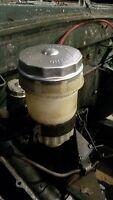 Land Rover Series 1 2 2a Lucas Girling Brake Master Cylinder Reservoir Steel Cap