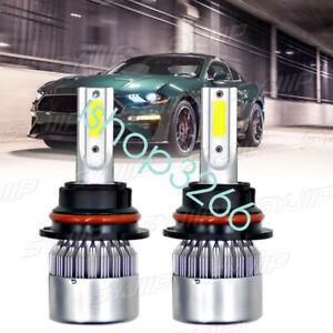 For Ford Mustang Shelby GT500 2007-2014 -2PC 6000K White LED Light Bulbs Lamp