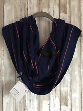 Lululemon Vinyasa Scarf Rulu Sailor Stripe Hero Blue Alarming Orange NEW HOT!