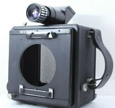 """""""AS-IS"""" VINTAGE WISTA ID PHOTO BOX CAMERA 4x5 + Right angle From Japan"""