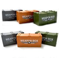 Bausteine Militär Soldat Waffen BOX Mini Modell Geschenk Spielzeug Kinder 6PCS