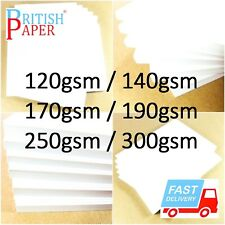 A2 A3 A4 A5 A6 WHITE CARD THICK PAPER CARDBOARD PRINTER COPIER SHEETS GSM CRAFTS