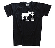 Original Kuhhalter - Bauer Landwirt Traktorist T-Shirt S-XXXL