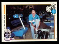 Bob Strampe #95 signed autograph auto 1990 Kingpins PBA Bowling Trading Card