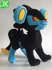 BIG 12'' 30CM Pokemon Luxray レントラー Rentoraa Plush Stuffed Doll Soft PNPL1223