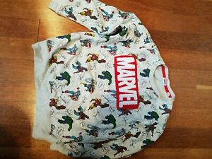 Boys Next Marvel Sweatshirt 7-8 Years Old