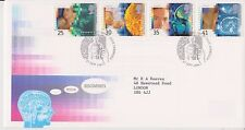 GB ROYAL MAIL FDC FIRST DAY COVER 1994 MEDICAL DISCOVERIES STAMP SET CAMBRIDGE