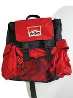Q15 marlboro cigarette promo hiking backpack bag vintage 1990s pockets