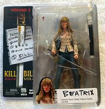 Kill Bill Beatrix Kiddo Action Figure. NIP. 2005