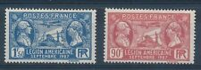 CC - TIMBRE DE FRANCE N° 244 et 245 NEUF Charnière*