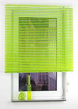 Alu Jalousie Aluminium Lamelle Fenster Rollo Jalousette 120 x 160 cm Apple Green