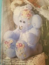 Victorian Cuddle Club Kit Victoria Lace Bear VCC008