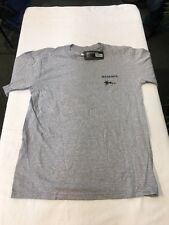 SIMMS T-SHIRT - FLY TROUT SHORT SLEEVE -GRAY - SIZE SMALL - NEW