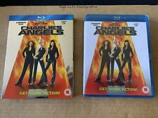 Charlies Angels (2000) Blu Ray NEW & SEALED with rare Slipcase Cameron Diaz