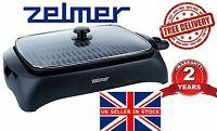 @ NEW Electric Grill ZELMER (BOSCH) ZGE0990B BBQ Barbecue tray Table HOT plate
