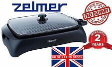 @ NEW Electric Grill ZELMER ZGE0990B BBQ Barbecue tray Table HOT plate