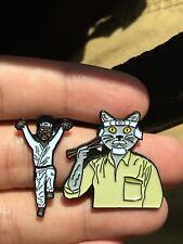 Karate Kid Festival Hat Pin, Lapel Pin Mashup Set