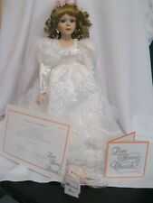 Moments Treasured Love Honor & Cherish Tiffany Liu Bride Porcelain Doll