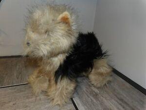 "HTF 10"" x 12"" Melissa & Doug Lifelike Yorkshire Terrier Plush  Stuffed Animal"