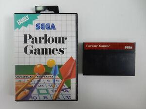 Parlour Games für Sega Master System - PAL - in OVP