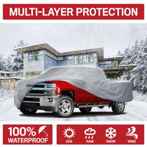 Motor Trend Multi-layer Waterproof Pickup Truck Cover fits Nissan Titan Crew Cab