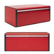 brabantia großer Klapp- Brotkasten Brotdose Rot - Passion Red