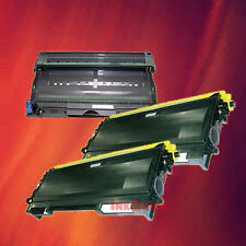 Toner Cartridge TN-350 & Drum DR-350 for Brother 3 Pack