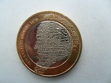 £ 2 UK coin deux livres 2012 200TH anniversaire CHARLES DICKENS Oliver Twist