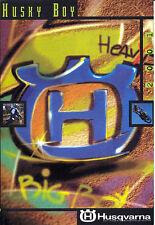 Husqvarna - Husky Boy - Prospekt -  2001  - Deutsch - nl-Versandhandel