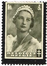 Belgium Queen Aristid Memorial Error frame missing stamp MH