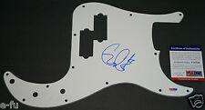 GARY CLARK JR. Signed Fender P Bass Pickguard Auto PSA/DNA COA RARE Autograph