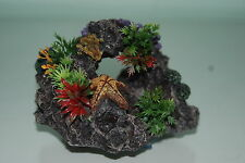 Aquarium Reef Rock + Suckers For Attatching To Aquarium Glass 11.5 x 7.5 x 11cm