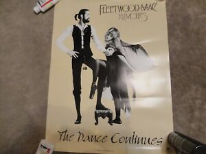 Fleetwood Mac Rumours (The Dance Continues) VERY RARE Canada ONLY Promo Poster