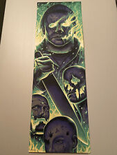 SOLD OUT Michael Myers Fire Halloween Variant Print Steven Loros Holliday