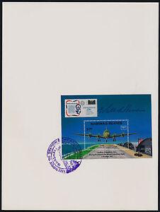 Marshall Islands 114 on Ameripex Exhibition Card - C54, William Hanson signature