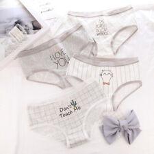 4259daf9278 Women Girls Cotton Underwear Briefs Panties Breathable Underpants Light  Style