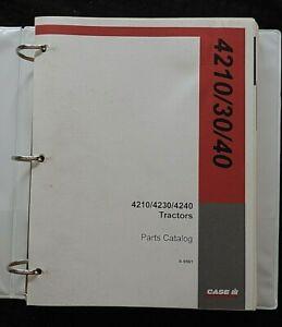 1994-1997 CASE IH 4210 4230 4240 TRACTOR PARTS CATALOG MANUAL W/BINDER NICE