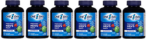 One A Day Men's Vitacraves, 150 Count (6 Pack)