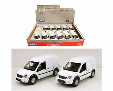 """WELLY DISPLAY FORD TRANSIT CONNECT 4.75"""" - 12 Pieces Diecast Car Box Set 43631D"""