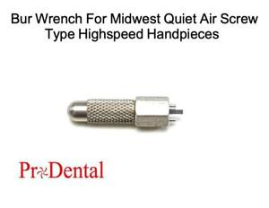 Bur Wrench For MIDWEST Quiet-Air Screw Type Dental Highspeed Handpieces