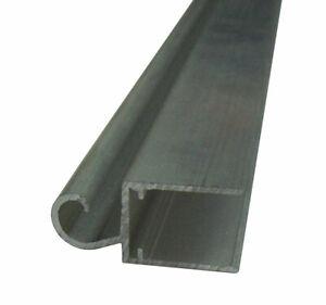 Alu Scharnier / Wandscharnier-Profil für 16mm Stegplatten, Länge 1 - 1,5m