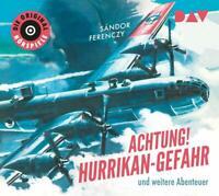 SANDOR FERENCZY - ACHTUNG! HURRIKAN-GEFAHR UND WEITERE ABENTEUER   CD NEW